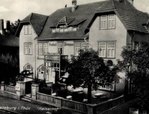 Sanierung Kaiserhof Elgersburg