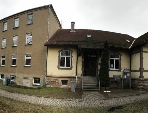 """Aktuell im Bau – Sanierung """"Alte Schule"""" Elgersburg"""