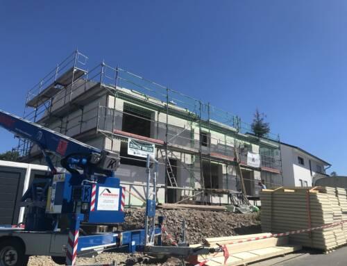 """Aktuell im Bau – EFH im Baugebiet """"Am Berg"""" Ilmenau OT Oehrenstock"""