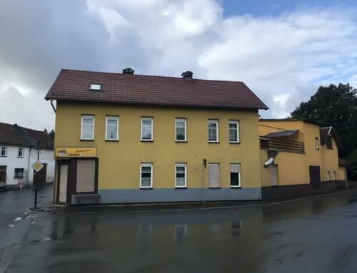 Aktuell im Bau – Umbau/Sanierung Wohn-& Geschäftshaus Obermühle 12 – Ilmenau OT Langewiesen