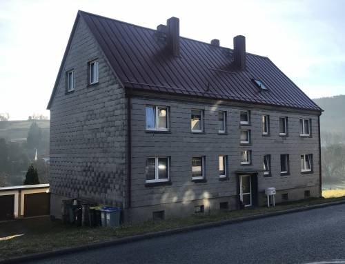 Aktuell im Bau – Sanierung MFH Arnstädter Straße 2c – Elgersburg