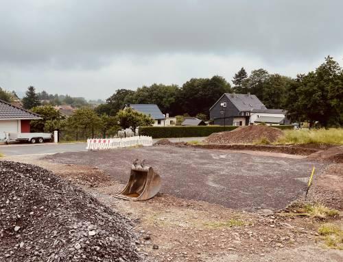 Aktuell im Bau – Einfamilienhaus Arthur-Keyn-Ring 1 – Ilmenau OT Oehrenstock